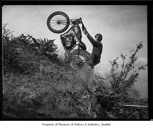 Hill climber in Western Washington January 23 1934