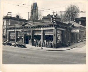 Fosberg Indian street view. Location is in Capitol Hill, Seattle and picture dates from about 1946.