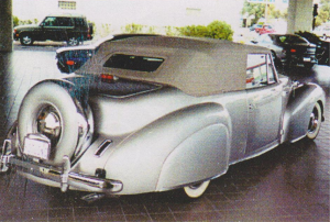 I had for a real short time a 1947 Continental V-12, one of the most beautiful cars in the world. I bought it at Sound Seattle auction.  I can still see that big smile on that old balck man as he drove away.