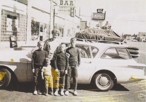 Somewhere in Montana. Our 1963 Lancer wagon had a slant 6. Our four boys loved it. My only complaint-it was slow.