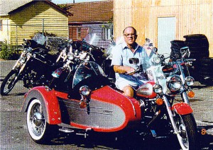 I rode many different makes of sidecars for many years.  I loved this beauty.