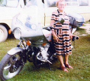 I rode from Sturgis to Eastern South Dakota in August, 1979 to see my mother.