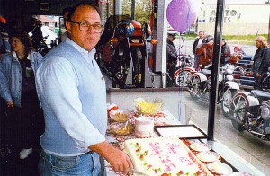 My 65th birthday, a big day at Downtown Harley.
