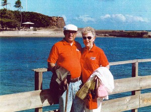 A stop in Puerto Rico on our way to South America in the winter of 1991