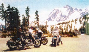 My buddies and I on a ride to Mt. Baker, Wash., May of 2002.
