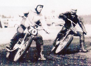 This race was in the early 1960's at the Scrambles track in Shelton, Wash. It was a good fast track. I was riding my twin pipe 250cc CZ. Joe Donners was riding his 250cc Greeves.  The CZ was much faster and better handling. Joe was a better and faster rider. I oved racing against him. We stayed friends, even after we both quit racing. He lost his life scuba diving in Alaska many years ago.