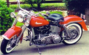 My 1965 Harley Pan Head. This was restored for me by my wonderful family for my 65th birthday.