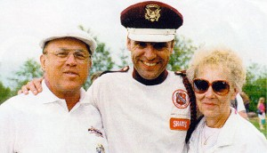 Myself, Brock Wheaton and Donna, my wife of 56 years. We rode together for over 56 years.